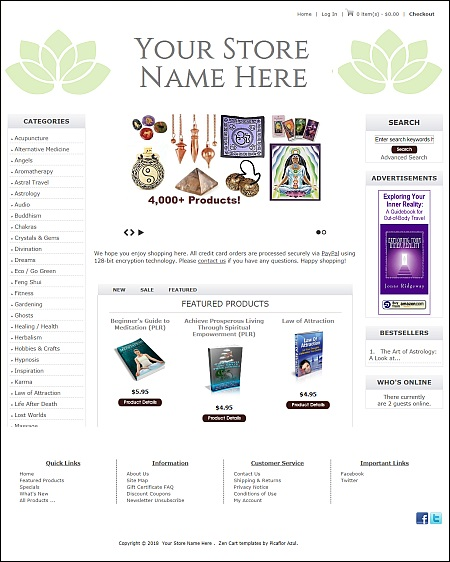 How To Start A New Age / Metaphysical Store - $225 -