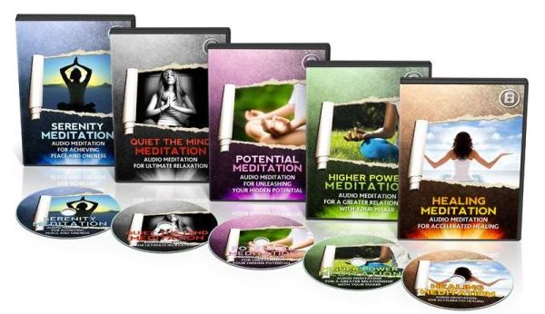 Resell Guided Meditation Audio Collection