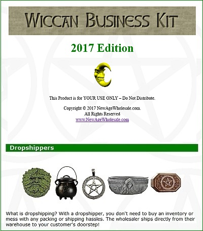 The Wiccan Business Kit
