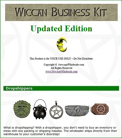 2019 Wiccan Business Kit - $24 95 -