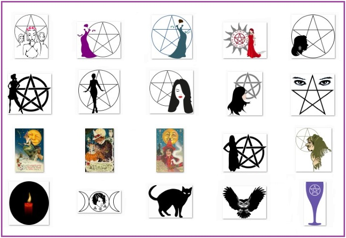 Pagan Wiccan art samples