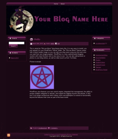 Wiccan Blog