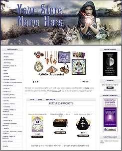 Wicca Store Demo 2