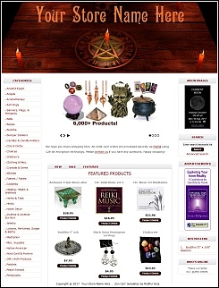Wiccan Store Demo 6